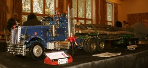 Kenworth Logger on display