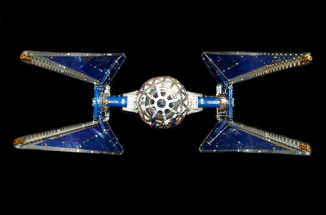 Greg's pic of my TIE spce ship