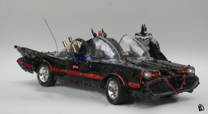 Batman and Batmobile